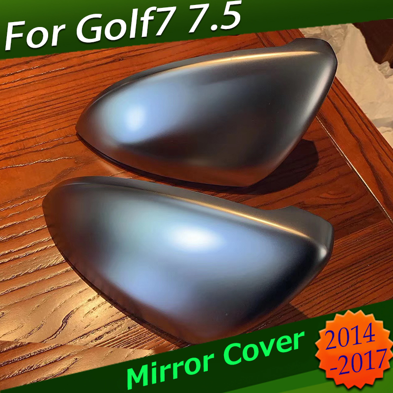 For New V W Golf7 1 Pair of Matte Chrome Rearview Mirror Protection Cover Shell Car Mirror Cover for Golf 7 Golf7 GT I MK7 CoverFor New V W Golf7 1 Pair of Matte Chrome Rearview Mirror Protection Cover Shell Car Mirror Cover for Golf 7 Golf7 GT I MK7 Cover