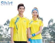pingpong Tshirt , Table Tennis T-shirts Male/Female , badminton shirts , badminton uniforms , Tennis shirt 6850