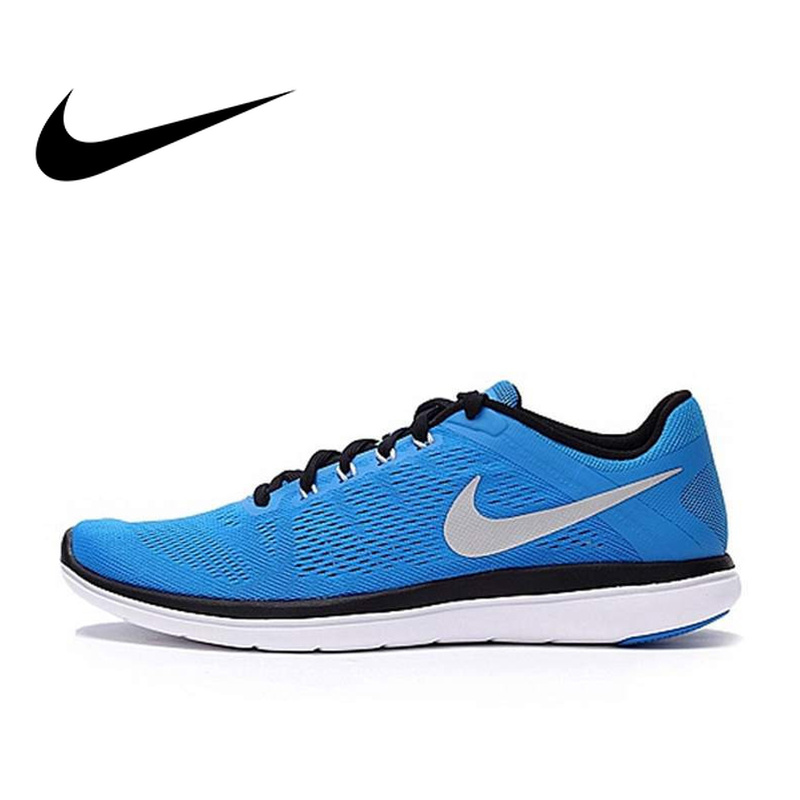 Original NIKE LUNAR Breathable Men's Running Shoes SneakerS Blue Breathable Athletic Shoes Classic Outdoor Sports Comfortable