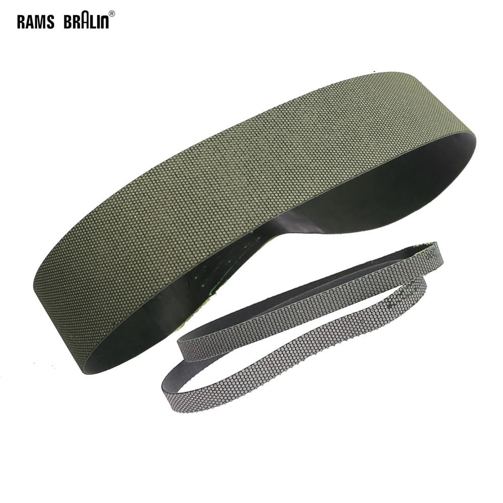 Diamond Abrasive Sanding Belt P200/230 For Hard Alloy Glass Ceramic Grinding Polishing Dressing