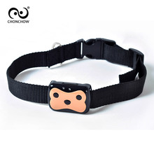 ChonChow Mini Waterproof GPS Tracker with Collar for Pets Cat Dog 4 Frequency GPRS GPS+LBS Dual Location with Free APP