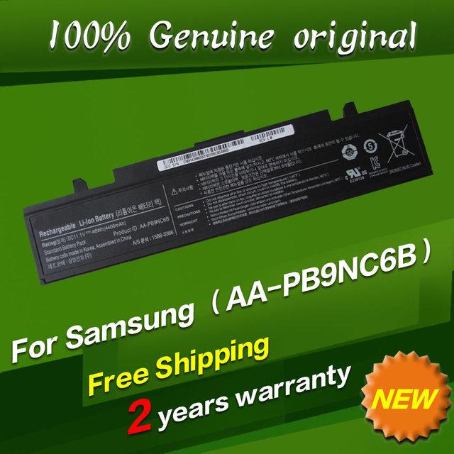 Aa-pb9nc6b jigu envío libre batería original del ordenador portátil para samsung rv509i rv520 rv511 rv720 rv540 r428 r429 r467 r468
