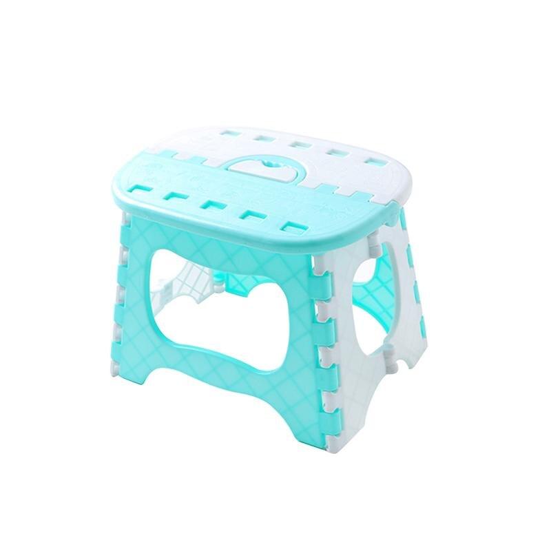 Plastic Folding Step Stool Portable Stool for Kids Home Bathroom Garden Kitchen Livingroom
