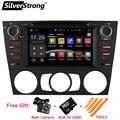 "Free Shipping Android 1din 7"" Car DVD player for BMW E90 E91 E92 E93 auto manual A/C WIFI Navi Radio Bluetooth Miralink GPS map"