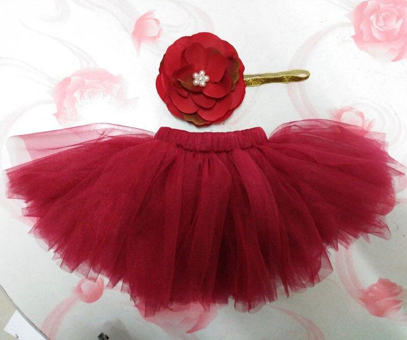 2016-NEW-4-Colors-Newborn-Tutu-Skirt-With-Matching-Flower-Headband-Stunning-Newborn-Photo-Prop-Girl-Tutu-Skirt-TT001-1