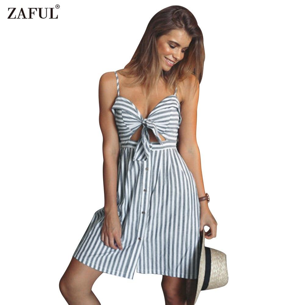 Strapless Summer Cotton Dresses