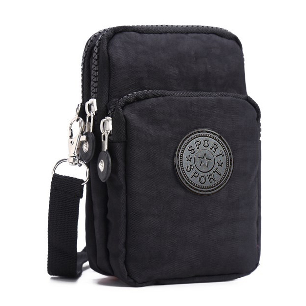 Girls Coin Purse Wallets Pocket Women Messenger Money Bags Cards Holder Lady Purses Woman Wallet Pouch Mini Shoulder Zipper Bag