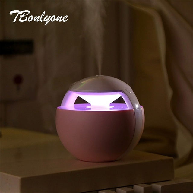 TBonlyone 450ML Mini Ball Humidifier For Baby Home Office Essential Oil Diffuser Air Aroma Diffuser Ultrasonic Air Humidifier 3