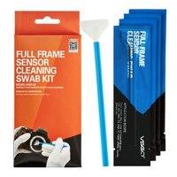 Professional VSGO Full Frame Sensor Cleaning Swab Kit 10pcs Pack DSLR Camera Sensor Swab CCD CMOS
