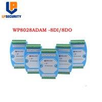 WP8028ADAM 8DI/8DO MODBUS RTU module / Optocoupler isolated / RS485