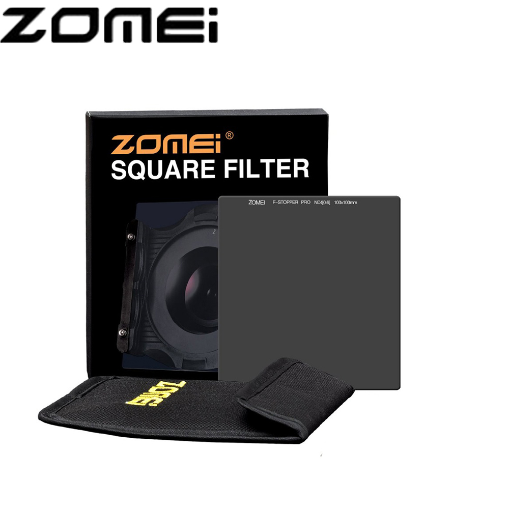 Zomei 100*100mm Square ND Optical Glass Neutral Density 10 stop/ND1000 Filter haida 100mm nd1000 optical glass neutral density nd filter 100 cokin z compatible