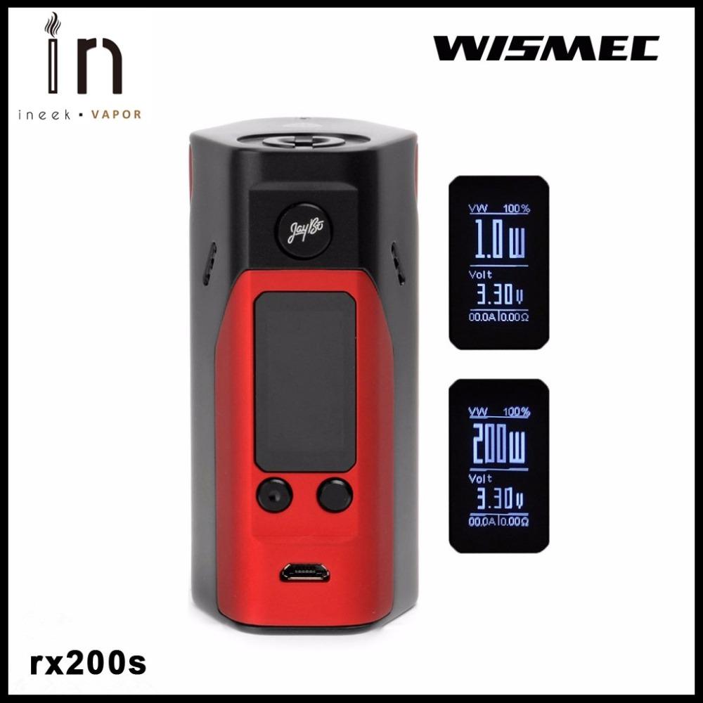 Prix pour 100% D'origine Wismec Reuleaux RX200S mise à niveau du firmware de wismec reuleaux rx200 énorme vaporisateur rx 200 s boîte mod