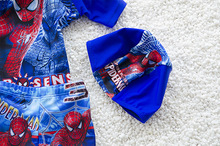 Boys 3pcs set Hat+Shirts+Trunks Swimwear