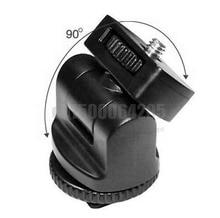 """360 1/4 """" винт флэш горячий башмак адаптер регулируемый угол полюс для цифровых зеркальных флэш свет из светодиодов свет"""
