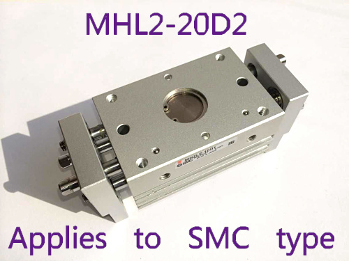 MHL2-20D2 wide type gas claw (parallel opening and closing) MHL series SMC type cylinder smc brand new original finger cylinder grip claw claw mhl2 16d