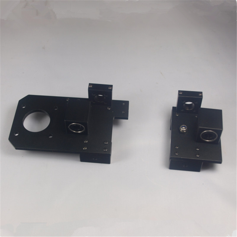 Prusa I3 3D printer metal aluminum alloy X axis X-ENDIDLER +X-ENDMOTOR kit/set Reprap rework adjustable for TR8 lead screw
