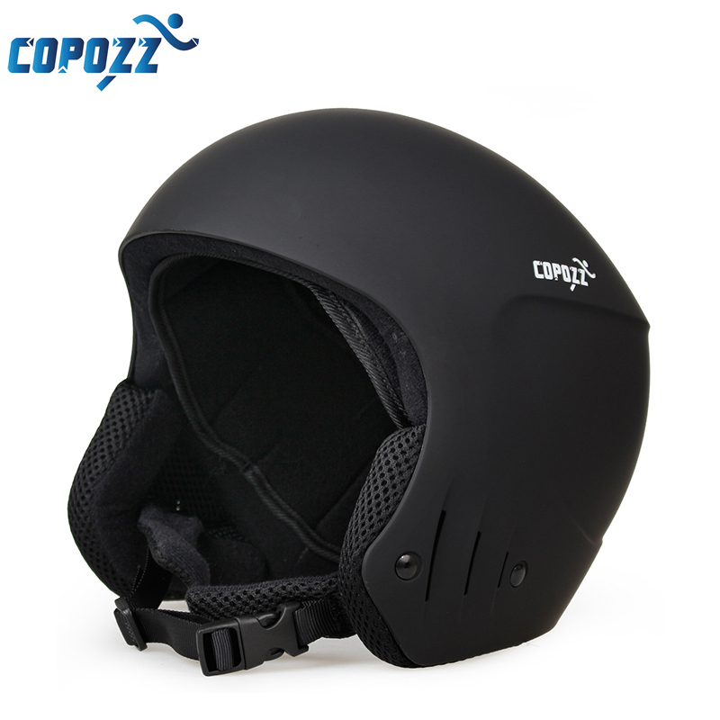 New Copozz Ski helmet Ultralight and Integrally-molded Breathable Snowboard helmet men women Skateboard helmet giro bevel snowboard helmet matte titanium mens