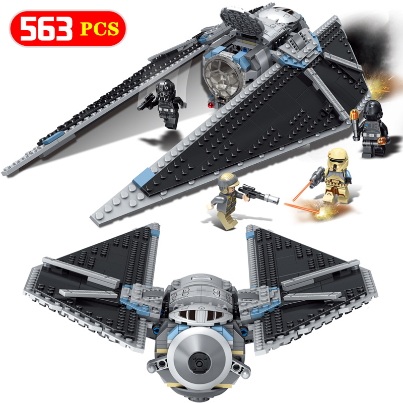 Titanium Attacklys Aircraftinglys Model Building Blocks Figures Bricks Harmless Enlighten Compatible LegoINGlys Star Wars Toy mostly harmless