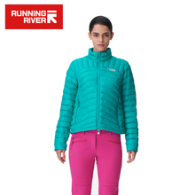 RUNNING RIVER Brand 2017 Super Light Cotton For Women Waterproof Windproof Thermal Sport Coat Outdoor Clothes #L6350