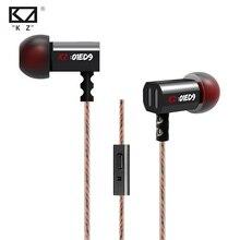 Original chaud KZ ED9 3.5mm Dans L'oreille Écouteurs Basse Lourde HIFI DJ Écouteurs Pour Mp3 Mp4 Téléphone Commun Livraison gratuite