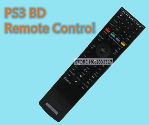 Used For Sony PS3 BD Remote Control Keyboard For PLAYSTATION 3 Blu-Ray DVD Disc Bluetooth Remote flex playstation dvd 2