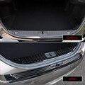 Для Ford taulus 2015-2018 1 шт. внутренний багажник автомобиля из нержавеющей стали задний бампер педаль панель Крышка автомобиля Стайлинг