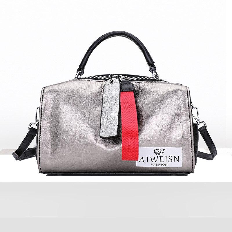LAFESTIN 2018 Women Handbag Brand Designer Diamonds Real Leather Bag Fashion Women Totes Shoulder Luxury brands