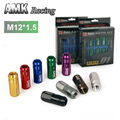 AMK racing--D1spec JDM Billet Aluminum Wheel Racing Lug Nuts P:1.5, L:52mm 20pcs/set  7076 -L-1.5