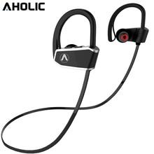 AHOLIC Z10 Sport auricolari Bluetooth HD stereo riduzione del rumore bassi pesanti cuffie impermeabili senza cuciture