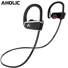Aholic z10 esporte bluetooth fones de ouvido hd estéreo redução ruído graves pesados sem emenda à prova dseamless água tampões