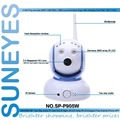 SunEyes SP-P905W Mini Robot Pan Tilt Wireless IP Camera 960P 1.3MP HD Low Lux with Micro SD Slot and Two Way Audio ONVIF RTSP