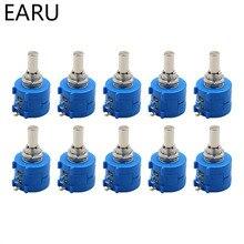 Potentiometer Multi-Turn 3590S-2-103L Resistance Precision 10K 10pcs Adjustable