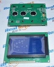 12864A bez czcionki 93*70 12864 KS0108 wyświetlacz LCD 128*64 12864 niebieski/zielony