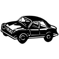 現代家の装飾豪華な車ウォール ステッカー ビニール自己粘着輸