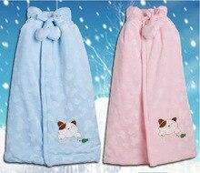 В 2014 году новая зимняя хлопок бархатный плащ с утолщенной младенческой подарочный пакет от имени