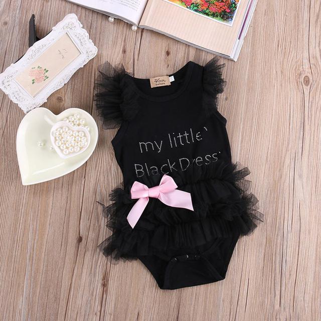 Baby Girls clothes Summer girls dress Bebe my little Tutu dress Toddler Top Bow-knot Plaids Dress Outfit Kids Summer dress