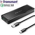 [Российские Акции] Tronsmart Presto Power Bank 10400 мАч Внешний Литий-ионный Аккумулятор USB Type-C Quick 3.0 Портативный Аккумулятор