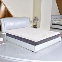 Giantex Twin Size 10 Memory Foam Mattress Bamboo Fiber Cover Bed Mattress Pad White High Quality Bed Topper HT0968T