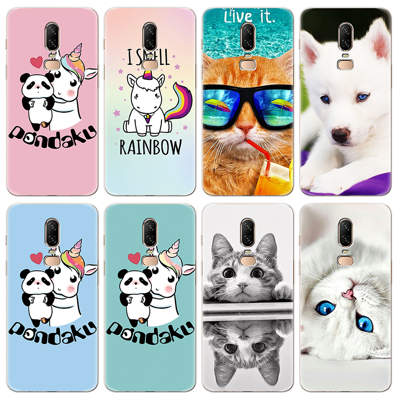 Case For Fundas Iphone XS Max X XR 5 SE 6 S 8 7 Plus Cat Cover For Oneplus 3 5 5T 6 6T TPU Coque For Google Pixel 2 XL Case