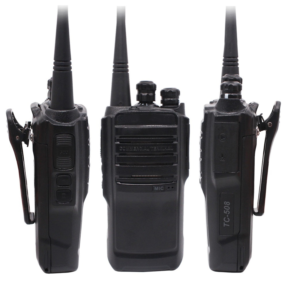 TC-508 Portable Two Way Radio TC508 Business Radio TC-500S UHF VHF Handheld Walkie Talkie With Li-ion Battery