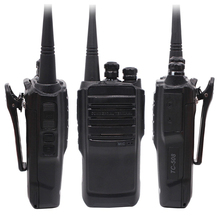 TC 508 Portable Two Way Radio TC508 Business radio TC 500S UHF VHF Handheld Walkie Talkie with Li ion Battery
