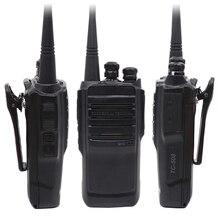 TC 508 taşınabilir iki yönlü telsiz TC508 iş radyo TC 500S UHF VHF el telsizi ile Li ion pil