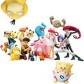 Pocket Monster Ash Ketchum Satoshi Misty Brock Takeshi Jesse James Nurse Joy Pikachu Meowth Toy Action Figure Model Doll Gif