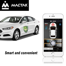 MACTAK PKE keyless entry Control the car by mobile phone WithAnd bluetooth control Close to lock/leave lock 813W
