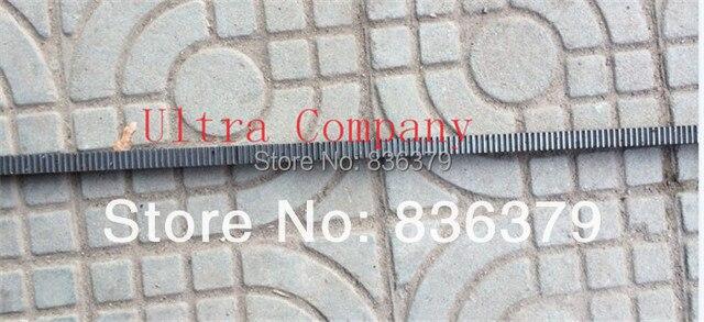 CNC Rack Gear Mod 2.5 Steel Right Teeth 25 x 25mm Length in 1000mm cnc machine