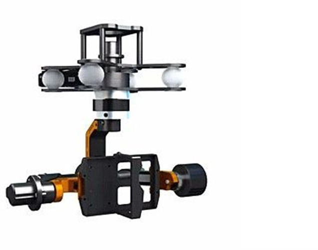 Walkera Camera Mount G-3DH Brushless Gimbal With 360 Degrees Tilt Control walkera g 2d camera gimbal for ilook ilook gopro 3 plastic version