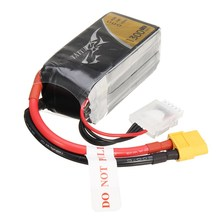 TATTU 14.8V 1300mAh 75C 4S 1P Lipo Battery XT60 Plug for Helicopter Quadcopter Batteries Accs for RC FPV Drone Spare Parts