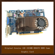 Original Genuine 1GB 1024MB HD6670 DDR5 Game Graphic Card For DELL AIT Display Video Card GPU Replacement Tested Working
