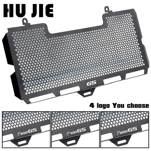 Motorcycle Radiator Guard Grille Cover Stainless Steel Cooler Protector For For BMW F650GS F700GS F800GS F800S 2008-2016 09 10