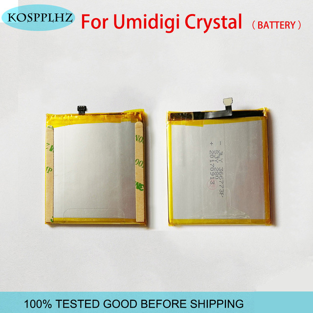 KOSPPLHZ Good quality tested well For umidigi umi crystal Mobile Phone Battery BatteriesKOSPPLHZ Good quality tested well For umidigi umi crystal Mobile Phone Battery Batteries